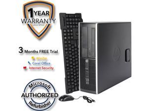 HP Desktop Computer Elite 8200 Intel Core i5 2nd Gen 2400 (3.10 GHz) 4 GB DDR3 1 TB HDD Intel HD Graphics 2000 Windows 7 Professional 64 Bit