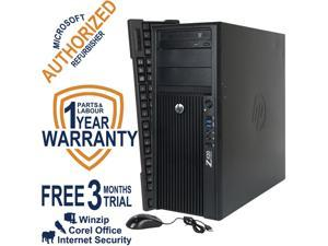 HP Desktop Computer Z420 WS Intel Xeon E5-1620 v2 (3.7 GHz) 8 GB DDR3 1 TB HDD NVIDIA NVS 310 Windows 7 Professional 64 Bit