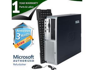 HP Desktop Computer DC7700 Core 2 Duo E6300 (1.86 GHz) 2 GB DDR2 320 GB HDD Windows 7 Professional 32 bit