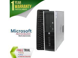 HP Desktop Computer 6200 Pro Intel Core i5 2nd Gen 2400 (3.10 GHz) 8 GB DDR3 2 TB HDD Intel HD Graphics 2000 Windows 7 Professional 64-Bit