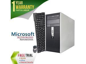 HP Desktop Computer DC5700 Pentium Dual Core E2160 (1.80 GHz) 2 GB DDR2 80 GB HDD Intel GMA 3000 Windows 7 Professional 32-Bit