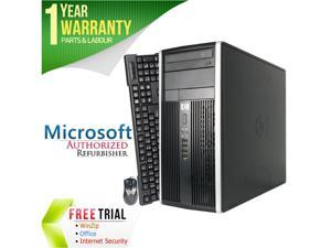 HP Desktop Computer Elite 8300 Intel Core i5 3470 (3.20 GHz) 4 GB DDR3 250 GB HDD Intel HD Graphics 2500 Windows 10 Pro 64-Bit