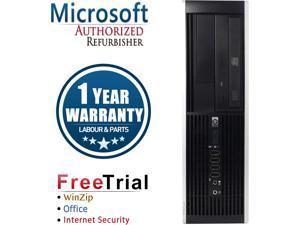 HP Desktop Computer Elite 8000-SFF Core 2 Quad Q6600 (2.40 GHz) 16 GB DDR3 2 TB HDD Intel GMA 4500 Windows 10 Pro