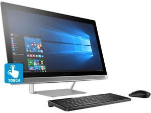 "HP Desktop Computer Pavilion 27-a030 Intel Core i5 6th Gen 6400T (2.20 GHz) 12 GB DDR4 1 TB HDD 27"" Touchscreen 1920 x 1080 Windows 10 Home 64-Bit"