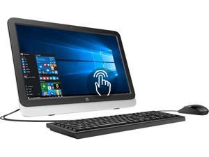 """HP All-in-One Computer 22-3140 A6-Series APU A6-6310 (1.80 GHz) 4 GB DDR3 1 TB HDD 21.5"""" Touchscreen Windows 10 Home"""
