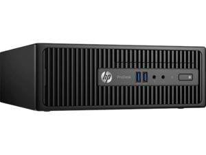 HP Desktop Computer ProDesk 400 G3 (W5X52UT#ABA) Intel Core i3 6th Gen 6100 (3.70 GHz) 4 GB DDR4 500 GB HDD Intel HD Graphics 530 Windows 10 Pro 64-Bit