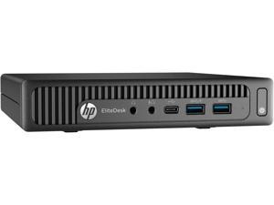 HP Desktop Computer EliteDesk 800 G2 (W5X48UT#ABA) Intel Core i5 6th Gen 6500T (2.50 GHz) 8 GB DDR4 256 GB SSD Intel HD Graphics 530 Windows 10 Pro 64-Bit