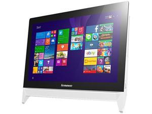 """Lenovo All-in-One Computer C20-05 A6-Series APU A6-7310 (2.0 GHz) 8 GB DDR3 1 TB HDD 19.5""""  Windows 10 Home"""