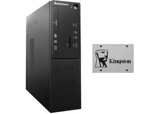 Lenovo S510 10KY002BUS Desktop Computer - Intel Core i5 6400 (2.7 GHz) 4 GB DDR4 500 GB HDD Intel HD Graphics 530 Windows 10 Pro 64-Bit