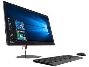 "Lenovo All-in-One Computer ThinkCentre X1 (10KE001FUS) Intel Core i5 6200U (2.30 GHz) 8 GB DDR4 256 GB SSD 23.8"" Windows 10 Pro 64-Bit"