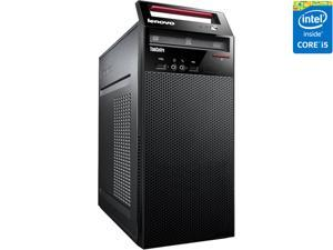 ThinkCentre Desktop Computer E73 (10AS00DFUS) Intel Core i5 4460S (2.90 GHz) 4 GB DDR3 500 GB HDD Intel HD Graphics 4600 Shared memory Windows 8.1 Pro 64-bit DG to Windows 7 Professional 64-bit