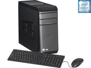 Lenovo Desktop Computer 700-25ISH (90ED0007US) Intel Core i7 6700 (3.4 GHz) 8 GB DDR4 1 TB HDD 120 GB SSD NVIDIA GeForce GTX 960 Windows 10 Home 64-Bit