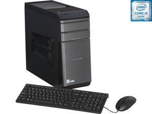Lenovo Desktop Computer 700-25ISH (90ED0008US) Intel Core i5 6400 (2.7 GHz) 8 GB DDR4 1 TB HDD 120 GB SSD NVIDIA GeForce GTX 750 Ti 2 GB Windows 10 Home 64-Bit