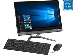 "Lenovo All-in-One Computer IdeaCentre 300-20ISH Pentium G4400T (2.9 GHz) 4 GB DDR4 500 GB HDD 20"" Windows 10 Home"