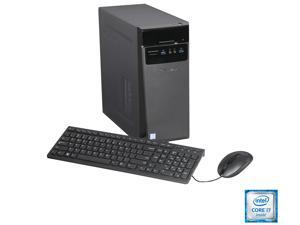Lenovo Desktop Computer IdeaCentre 300-20ish Intel Core i7 6th Gen 6700 (3.4 GHz) 12 GB DDR4 1 TB HDD Intel HD Graphics 530 Windows 10 Home