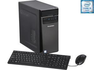 Lenovo Desktop Computer IdeaCentre 300-20ish (90DA007VUS) Intel Core i5 6th Gen 6400 (2.7 GHz) 4 GB DDR4 1 TB HDD Intel HD Graphics 530 Windows 10 Home 64-Bit