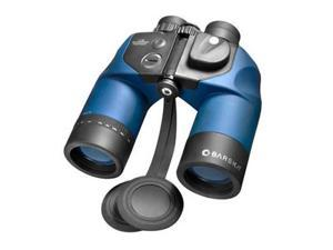 BARSKA Deep Sea 7x50 WP Waterproof Marine Binoculars Built-In Rangefinding Reticle and Compass