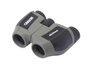 CARSON JD-822 Scout 8 X 22mm Compact Porro Prism Binoculars