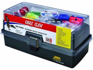 Eagle Claw KTKLBXFWD  Go Fish Extreme Tackle Box Kit