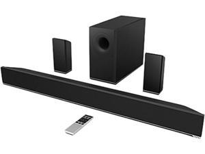 "VIZIO S3851-W-D4B 5.1 CH 38"" Sound Bar with Wireless Subwoofer & Rear Satellite Speakers, Used like NEW"