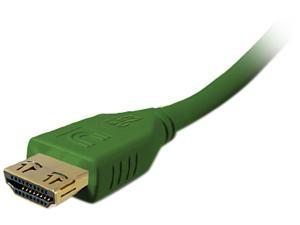 Comprehensive HD-HD-25PROGRN 21 - 25 ft. Green Connector on First End: 1 x HDMI Male Digital Audio/Video Connector on Second End: 1 x HDMI Male Digital Audio/Video Pro AV/IT High Speed HDMI Cable with