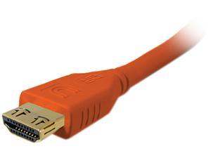 Comprehensive HD-HD-6PROORG 5 - 10 ft. Orange Connector on First End: 1 x HDMI Male Digital Audio/Video Connector on Second End: 1 x HDMI Male Digital Audio/Video Pro AV/IT High Speed HDMI Cable with