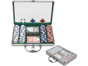 Generic 200 11.5G Holdem Poker Chip Set w/Clear Cover Aluminum Case