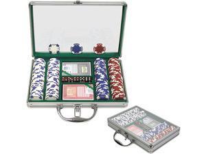 Generic 200 11.5G Holdem Poker Chip Set w/Clear Cover Aluminum Case