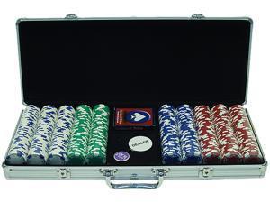 Generic 500 11.5G Holdem Poker Chip Set w/Aluminum Case