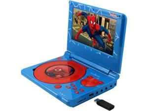 Lexibook DVDP5SP Spider-man Portable DVD Player with 3D design