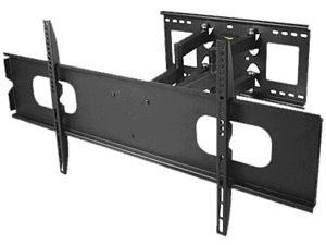 "SIIG CE-MT1A12-S1 47""-90"" Full-Motion TV Wall Mount LED & LCD HDTV,up to VESA 800x400 max load 200 lbs,Compatible with Samsung, Vizio, Sony, Panasonic, LG, and Toshiba TV"