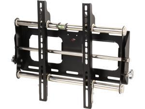"Rosewill RHTB-14004 - 23"" - 55"" LCD LED TV Lockable Tilt Wall Mount - Bubble Level, Max. Load 123 lbs., VESA Up to 400x400mm, Black, compatible with Samsung, Vizio, Sony, Panasonic, LG and Toshiba TV"