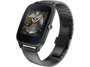 ASUS ZenWatch 2 Android Wear Smartwatch with Quick Charge & Gun Metal Casing/Gray Metal Band ( WI501Q-GM-GR-Q)