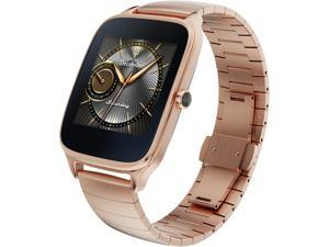 ASUS ZenWatch 2 Android Wear Smartwatch with Quick Charge & Gold Case, Gold Metal Band (WI501Q-GM-GD-Q)