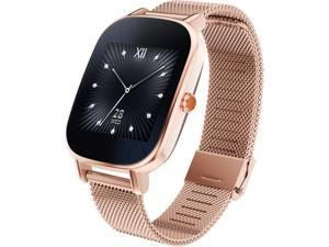 ASUS ZenWatch 2 Android Wear Smartwatch with Quick Charge & Rose Gold Case, Rose Gold Metal Band (WI502Q-RM-RG-Q)