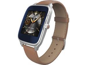 ASUS WI501Q-SL-CM-Q ZenWatch 2 1.63-inch AMOLED 4GB Smart Watch w/ Quick Charge Silver