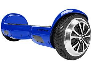 Swagtron T1 Hoverboard (Blue) -- World's First UL2272 certified Hands Free Two Wheel Self Balancing Electric Scooter