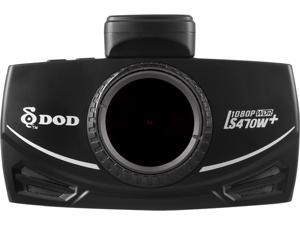 DOD Tech DOD-LS470W+ Full HD dash cam with Sony Exmor Sensor, 10x speed GPS processor