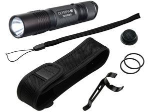 Olympia RG580 High-Performance Rugged Flashlight - Black