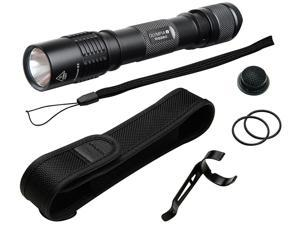 Olympia RG260 High-Performance Rugged Flashlight - Black