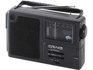 Craig Portable AM/FM Radio With Weather Band CR4181W