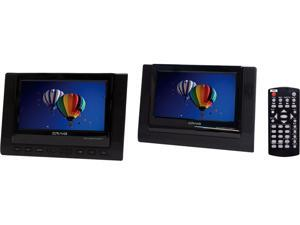 Craig CTFT719 7 Inch TFT Dual Screen Portable DVD/CD Player With Remote Control