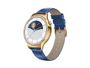 Huawei Smart Watch Jewel with Sapphire Blue Italian Leather Strap Model 55021121