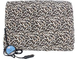MAXSA 20012 Leopard Heated Car Blanket