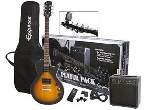 Epiphone Les Paul Special II Player Pack Electric Guitar Package-Vintage Sunburst