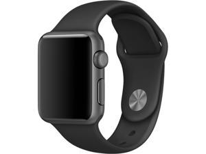 Apple 38mm Black Sport Band with Space Black Pin for Apple watch 38mm Model MJ4F2ZM/A