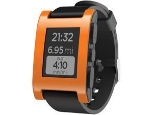 Pebble Smart Watch for iPhone and Android Devices (Orange)