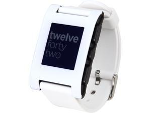 Pebble Smart Watch for iPhone and Android Devices (White)