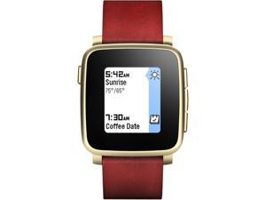 Pebble 511-00036 Time Steel Smartwatch for Apple and Android Devices Gold