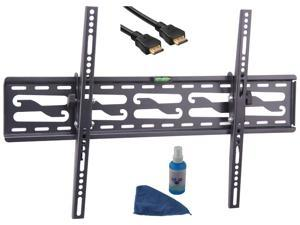 """Tuff Mount KT8025 32""""-72"""" Tilt TV wall mount LED & LCD HDTV max load 130 lbs with Bubble and HDMI cable Compatible with Samsung, Vizio, Sony, Panasonic, LG and Toshiba TV"""